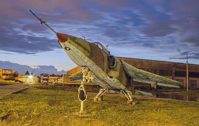 IAR-93. #208 Romanian aircraft model (exposed stock photo