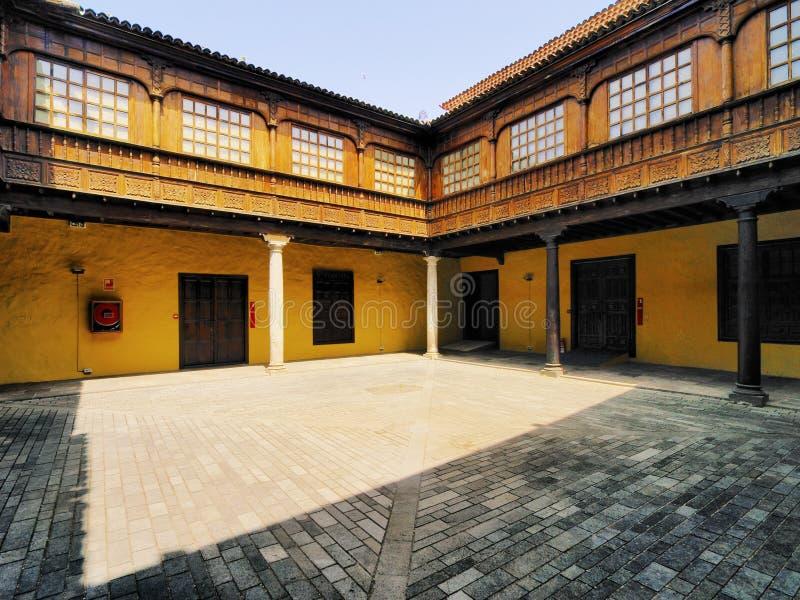 Iarda coloniale della Camera immagine stock