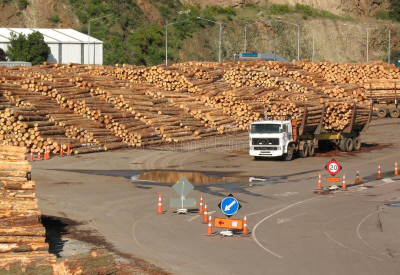 Iarda del legname fotografia stock