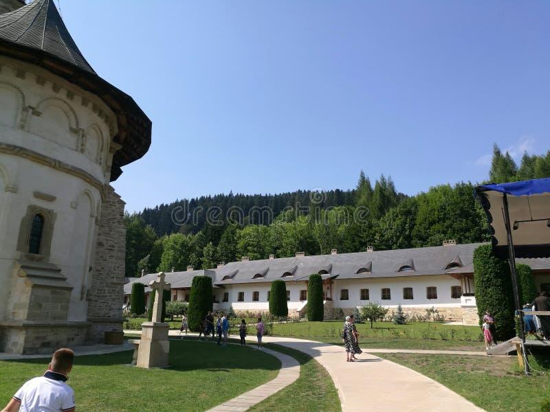 Iarda del monastero di Putna fotografie stock libere da diritti