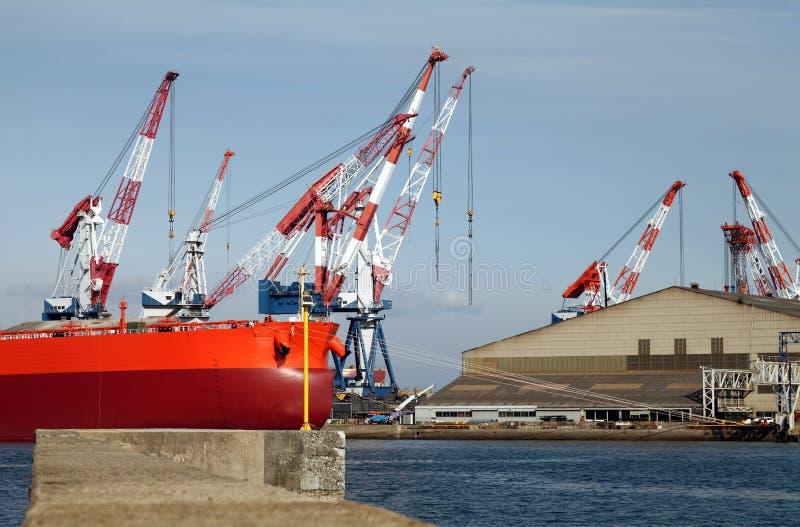 Iarda della nave fotografie stock libere da diritti