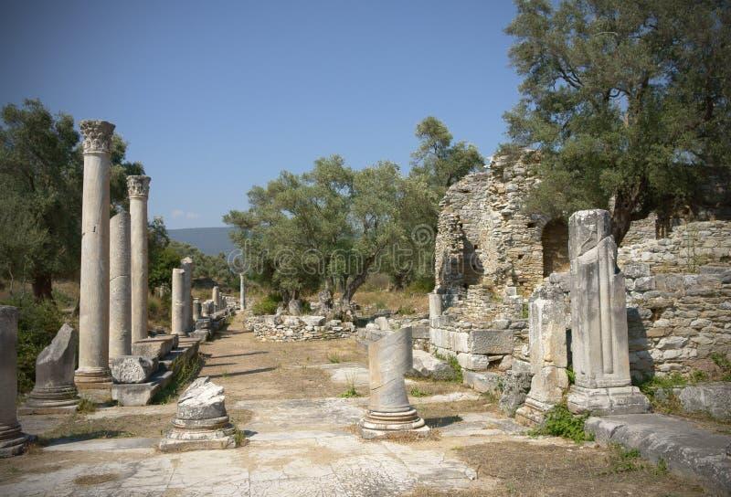 Iasos Ancient City royalty free stock photo