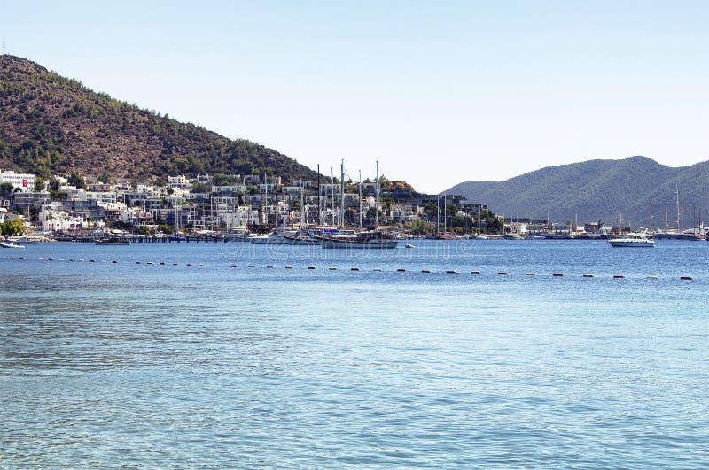 Iate e barcos de vela luxuosos foto de stock royalty free