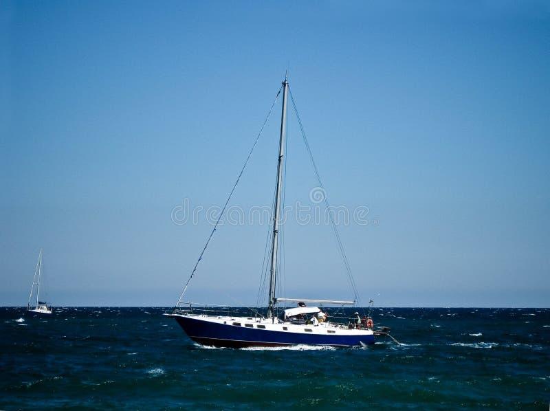 Iate o Mar Negro imagens de stock
