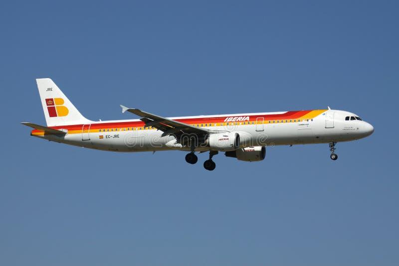 Ibéria Airbus A321-200 foto de stock