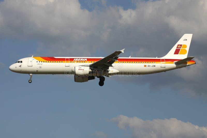 Ibéria Airbus A321-200 fotografia de stock
