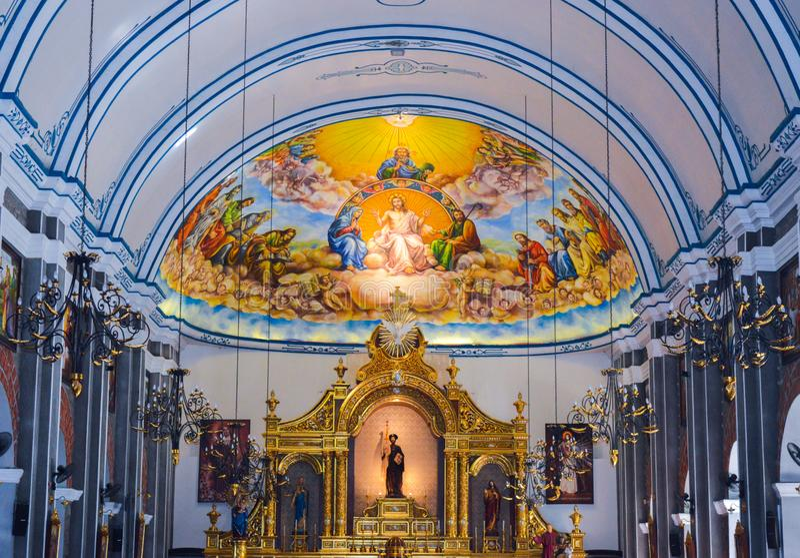 Ibaan, Batangas, εκκλησία των Φιλιππινών στοκ φωτογραφίες με δικαίωμα ελεύθερης χρήσης