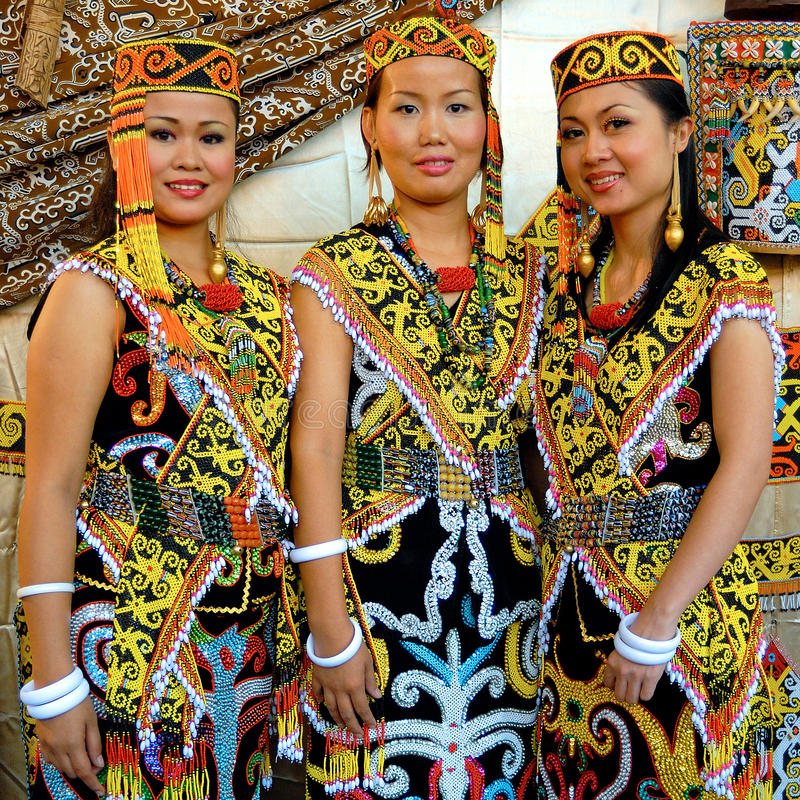 Malaysian People: Iban People Editorial Stock Photo. Image Of People, Asia