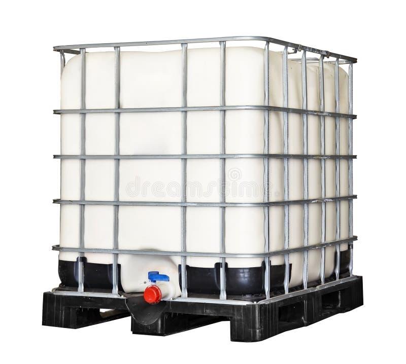 IBC塑胶容器 免版税库存照片