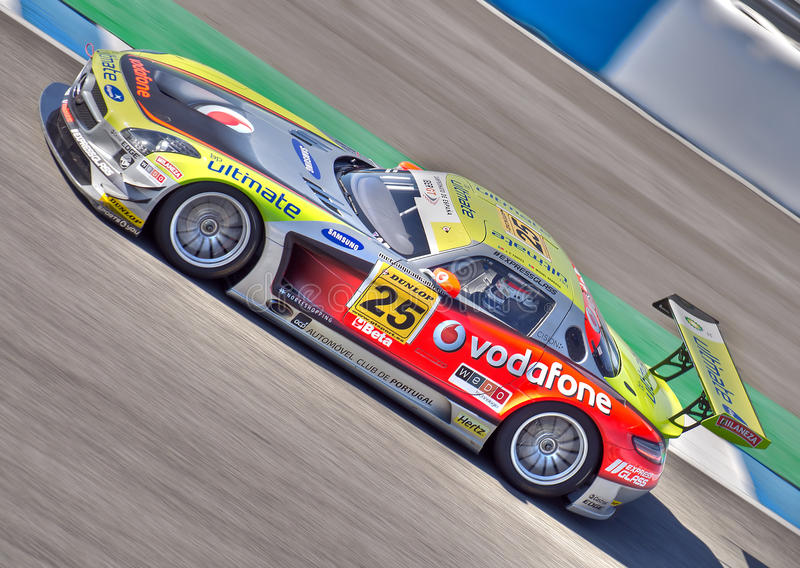 Iber GT Championship from Spain. stock image