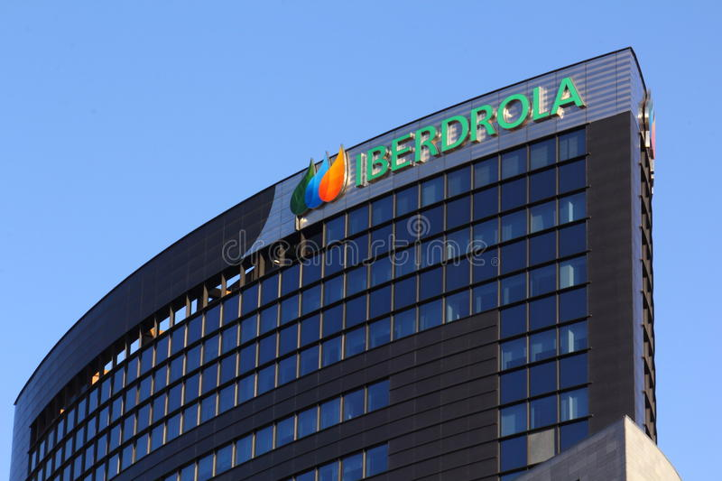 Download Iberdrola building editorial photo. Image of office, spain - 23229676