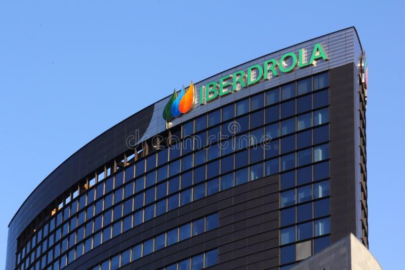 Iberdrola building royalty free stock image