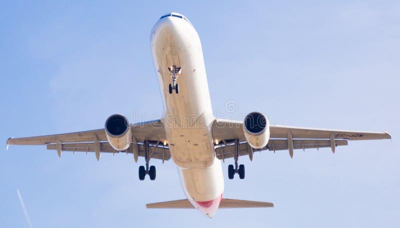 Iberia Airlines Flächenlandung lizenzfreie stockfotografie