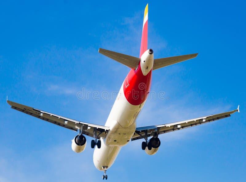 Iberia Airlines Flächenlandung lizenzfreie stockbilder