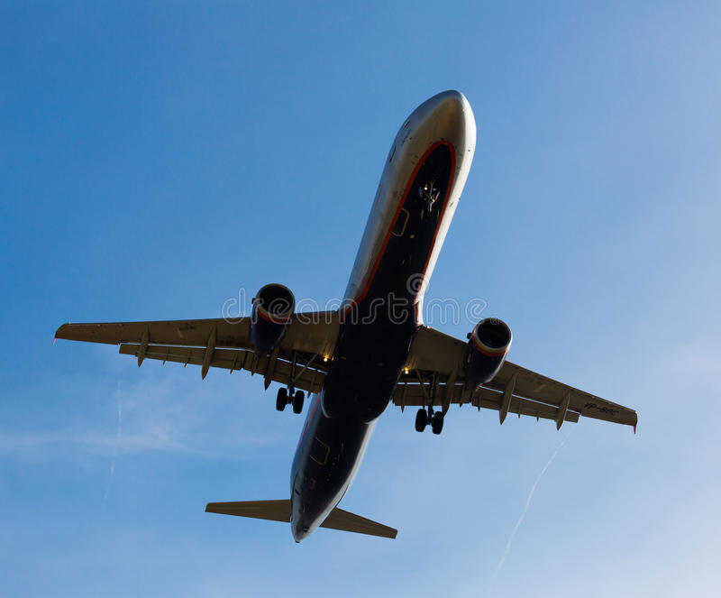 Iberia linii lotniczych płaski lądowanie zdjęcia stock