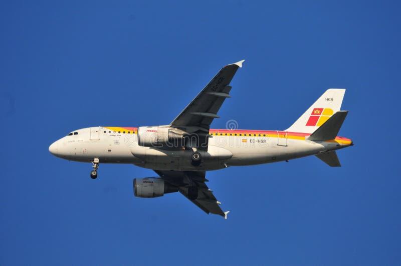 Iberia samolot zdjęcie royalty free