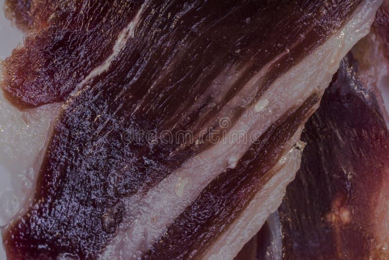 Download Iberico Do Presunto Do Detalhe Imagem de Stock - Imagem de saudável, alimento: 107528411