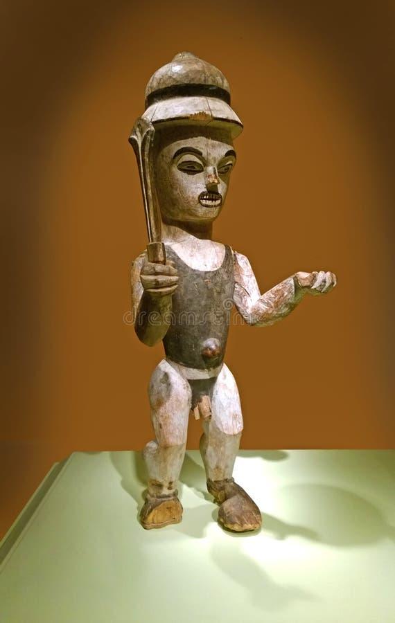 Ibibiokunstenaar Puppet royalty-vrije stock foto's