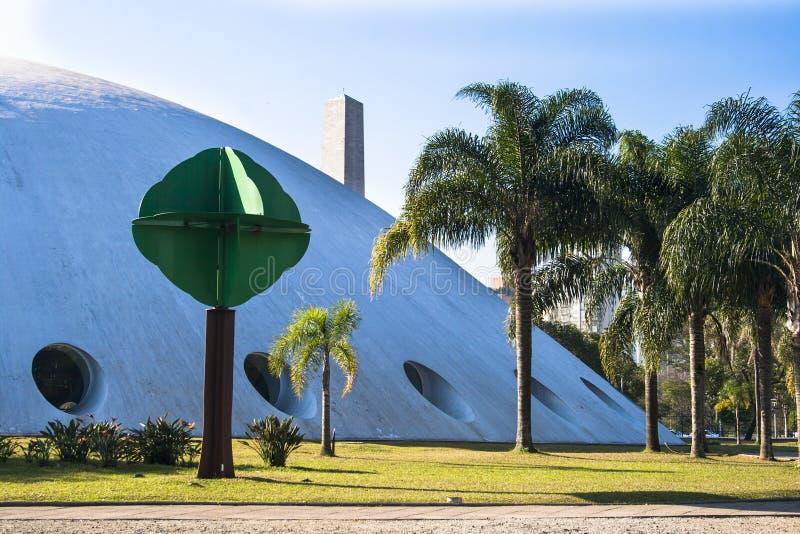 Download Ibirapuera Park redaktionelles stockbild. Bild von gebäude - 47100879