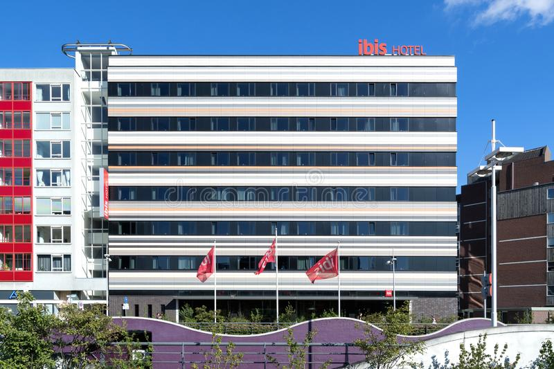 Ibis Leiden Centre Hotel in the Netherlands royalty free stock images