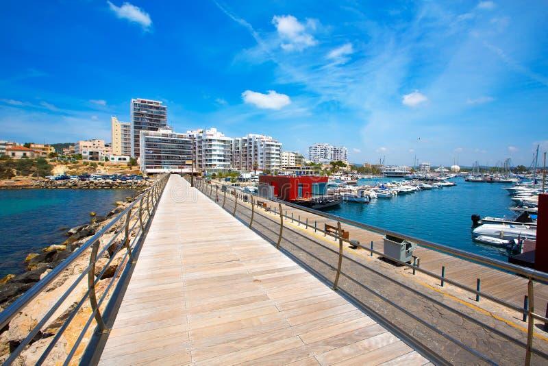Ibiza圣安东尼奥Abad Sant安东尼de Portmany 库存照片