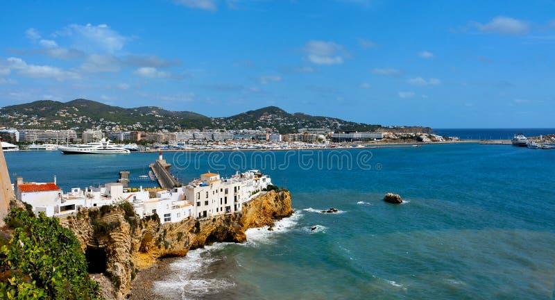 Ibiza城镇 图库摄影