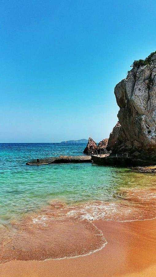 Ibiza横向 库存图片