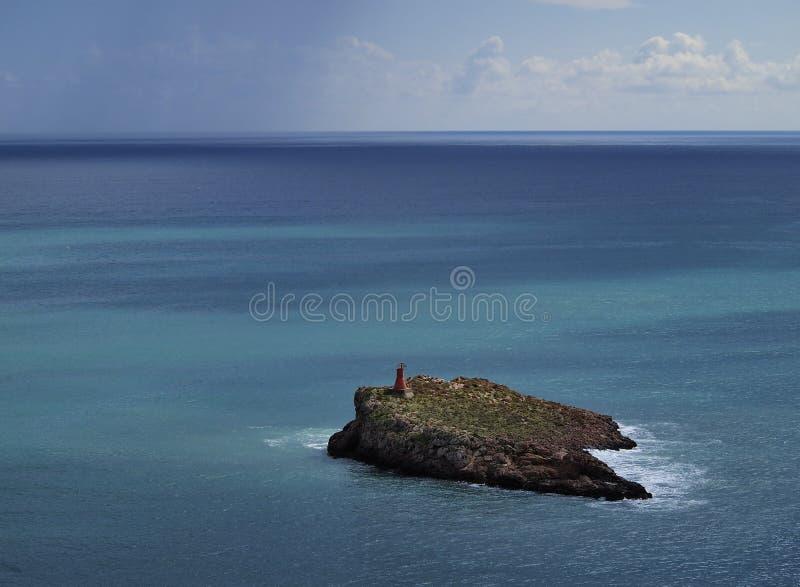 Ibiza海岸 库存照片