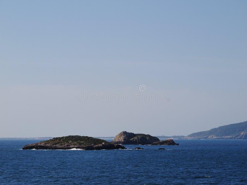 Ibiza海岸 免版税库存图片