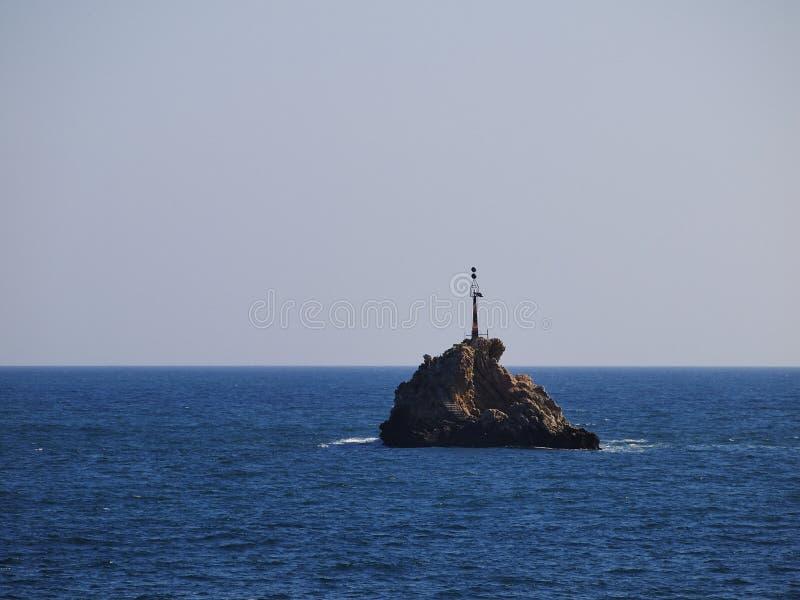 Ibiza海岸 免版税图库摄影