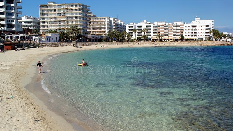 Ibiza, île méditerranéenne en Espagne photo libre de droits