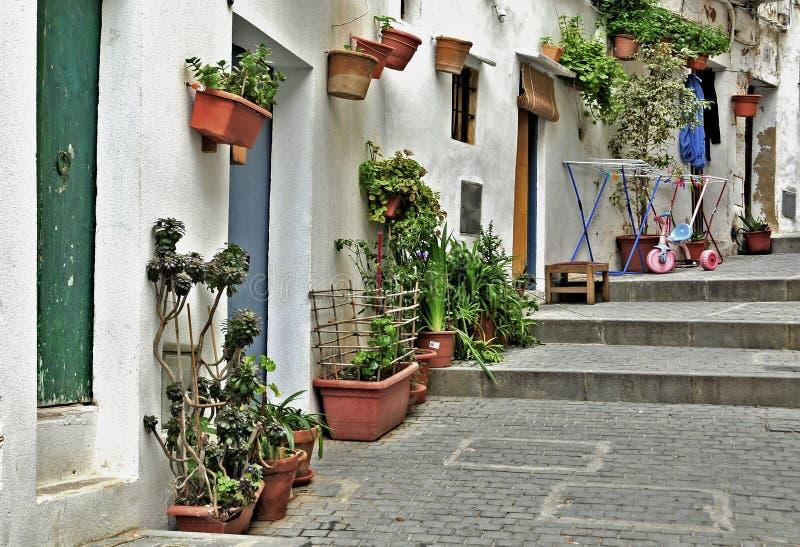 Ibiza, Îles Baléares, Espagne images libres de droits