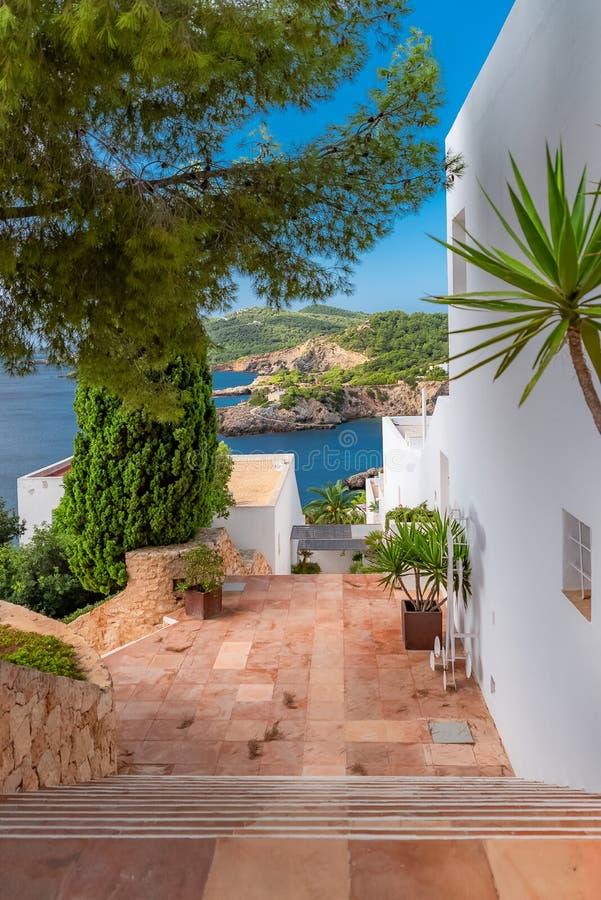Ibiza ö fotografering för bildbyråer