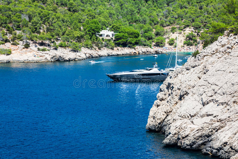 Ibiza Balearic Islands at Spain. Europe stock images