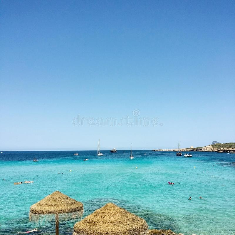 ibiza beach stock photos