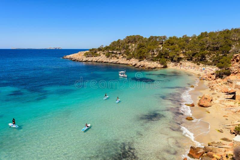 Ibiza Cala Saladeta στοκ εικόνα