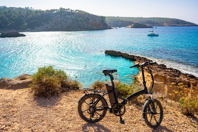 Ibiza Cala Xarraca в Sant Джоан Balearics стоковые изображения