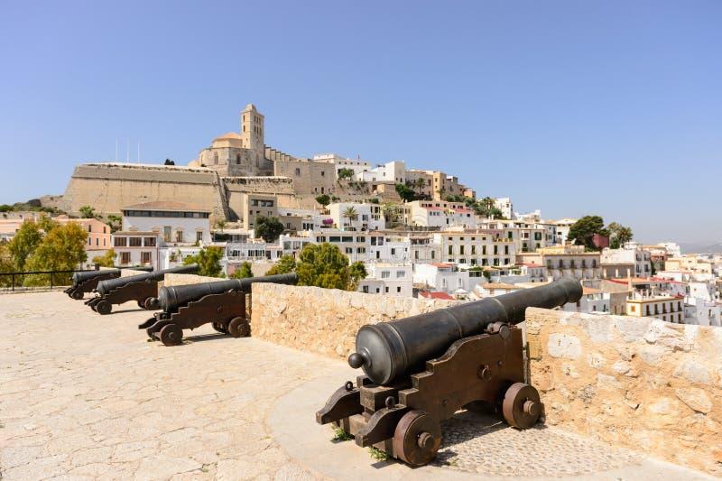Ibiza Dalt Vila royaltyfri foto