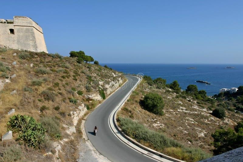 Ibiza dalt Vila stockbild