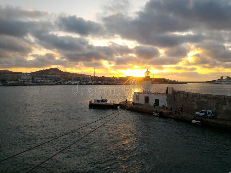 Ibiza del puerto imagen de archivo libre de regalías