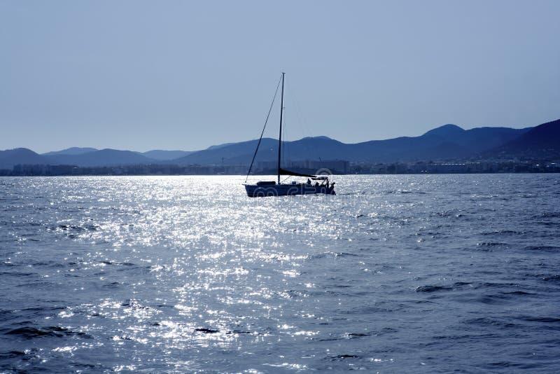 Download Ibiza Mediterranean Island Blue Seascape Stock Photo - Image of mountain, beach: 10017770