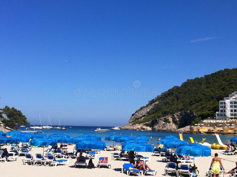 Ibiza plaża obrazy stock