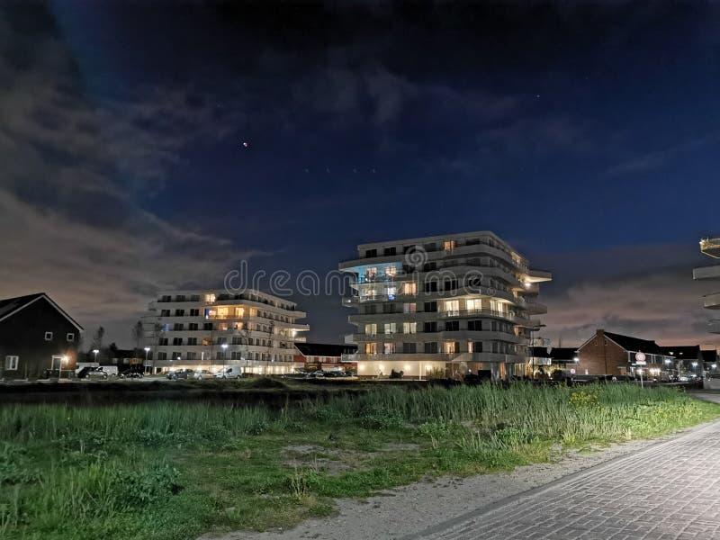 Ibiza plaza Naaldwijk stock image