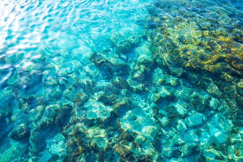 Ibiza Portinatx Arenal Gran beach in Balearics royalty free stock photos