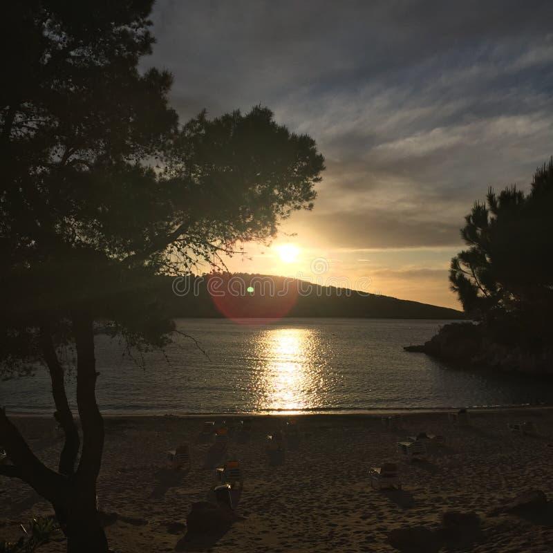 Ibiza reflects royalty free stock photography
