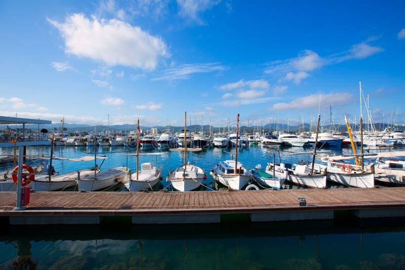 Ibiza San Antonio Abad Sant Antonio De Portmany marina obrazy royalty free