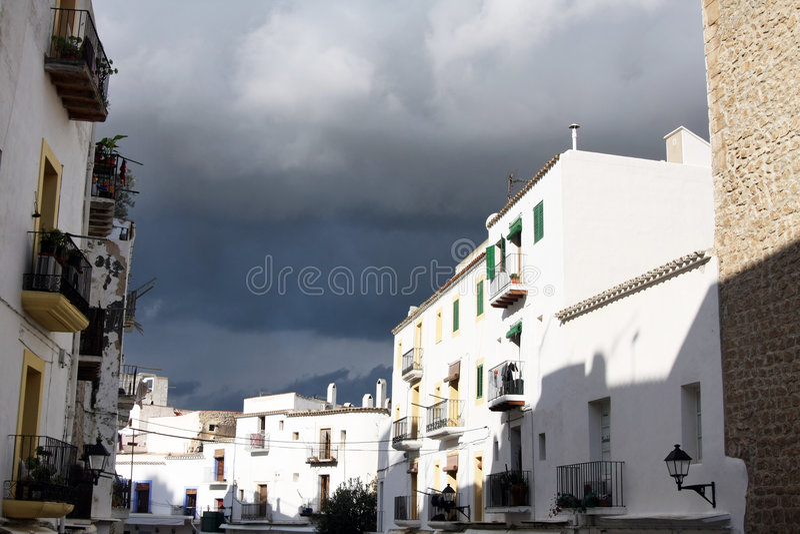 Ibiza Storm Stock Image