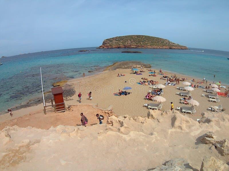 Ibiza-Strand stockfotos