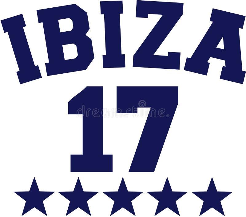 Ibiza 17 vektor vektor illustrationer