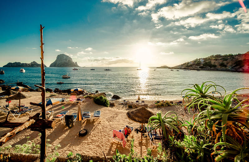 Ibiza royalty free stock photos